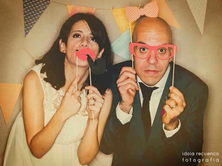 El photo booth de la boda {Gemma i Juanka}
